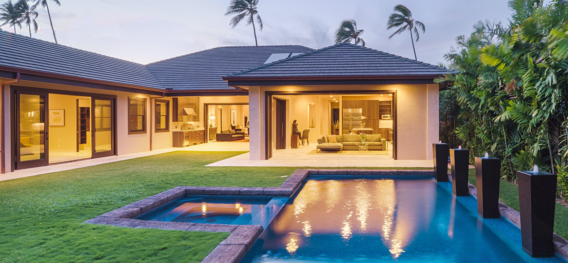 Hawaiian houses amazing with hawaiian houses woman for Aloha package homes