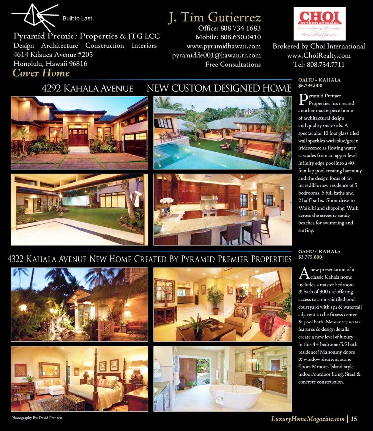#1. Luxury home 2