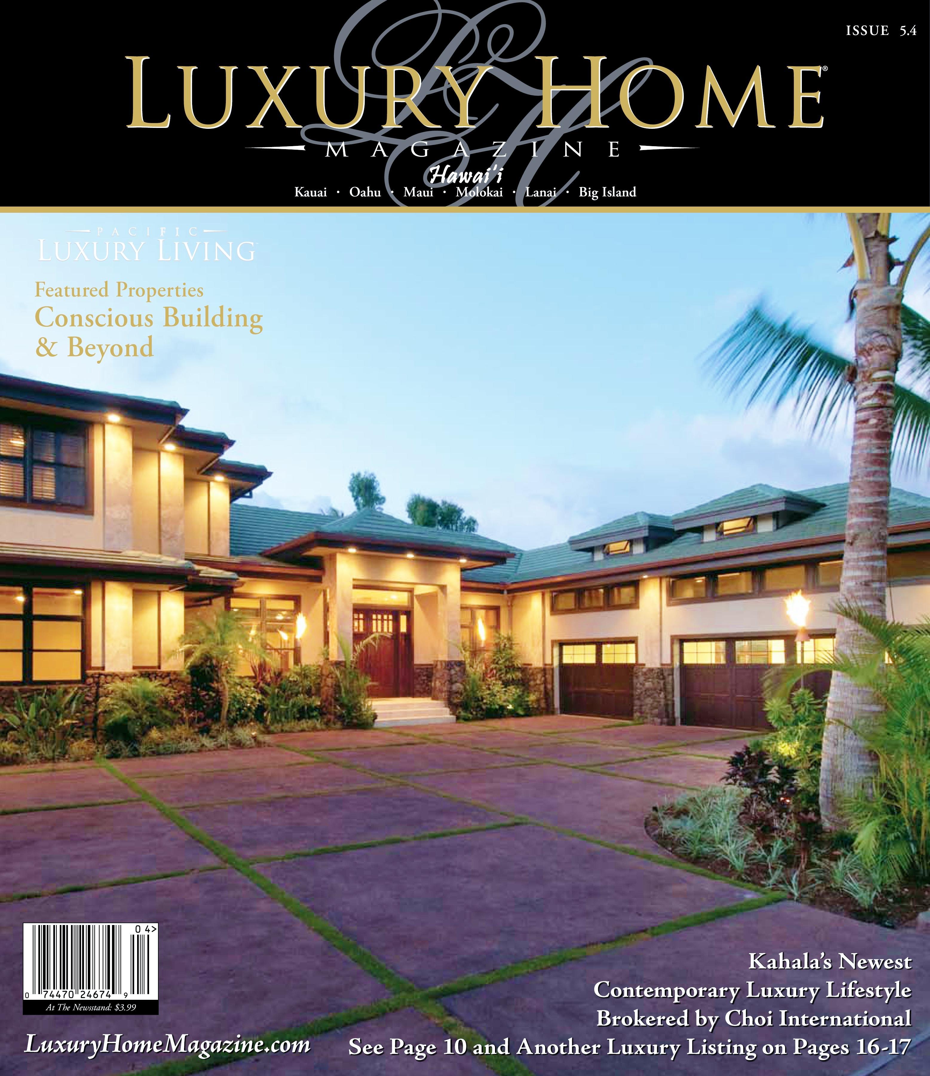 Captivating Luxury Home Magazine 5.4